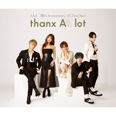 AAA 15th Anniversary All Time Best -thanx AAA lot-(4枚組CD+スマプラ)