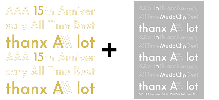 『AAA 15th Anniversary All Time Music Clip Best -thanx AAA lot-』