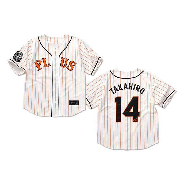 【AAA Party会員限定】14th ベースボールシャツ -TAKAHIRO NISHIJIMA-