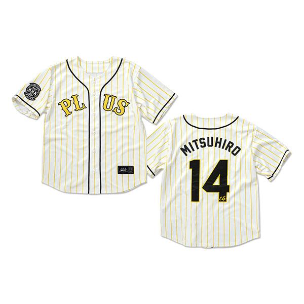 【AAA Party会員限定】14th ベースボールシャツ -MITSUHIRO HIDAKA-