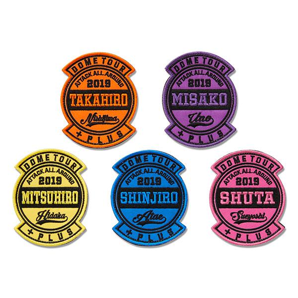 【AAA Party会員限定】カスタムワッペン(全5種)
