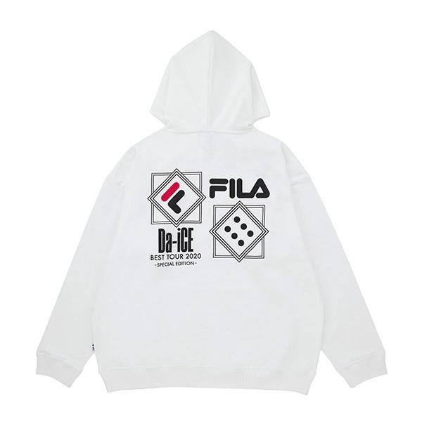 Da-iCE×FILA プルオーバーフーディ