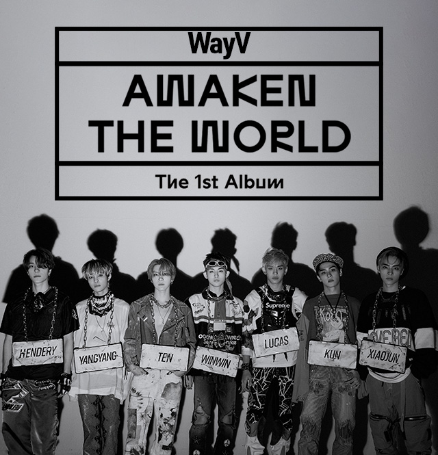 WayV『Awaken The World』Now On Sale